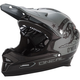 O'Neal Fury RL Casco, california-black/grey